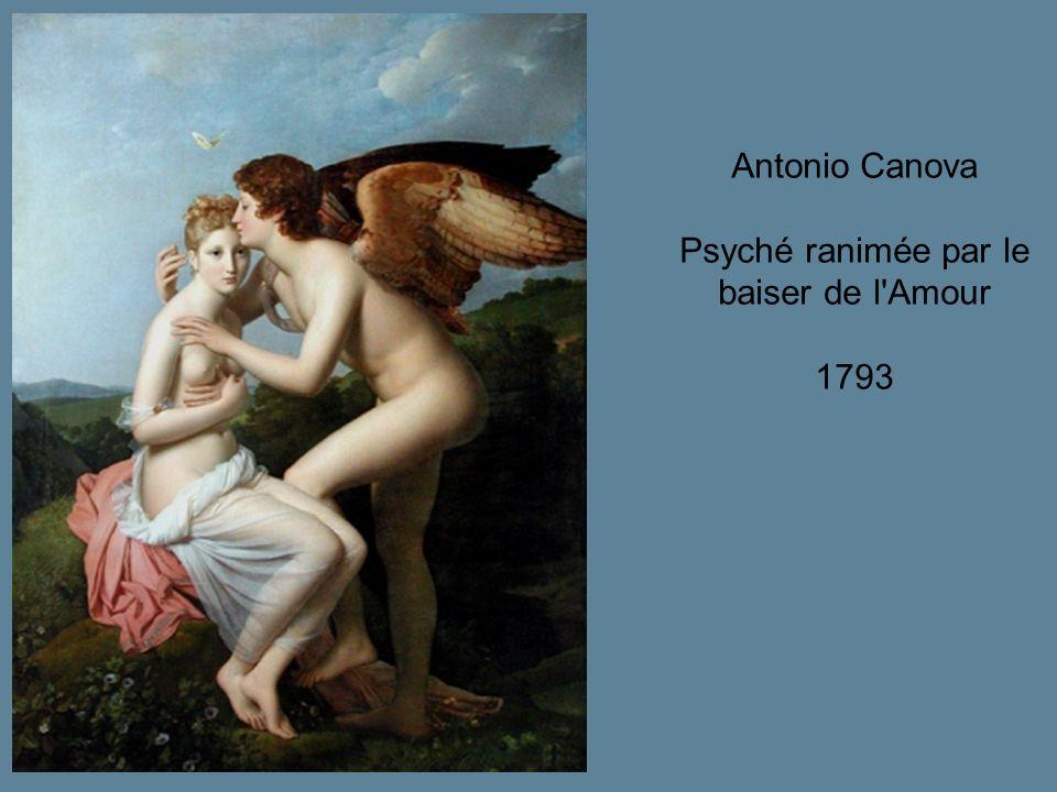 Antonio Canova Psyché ranimée par le baiser de l'Amour 1793