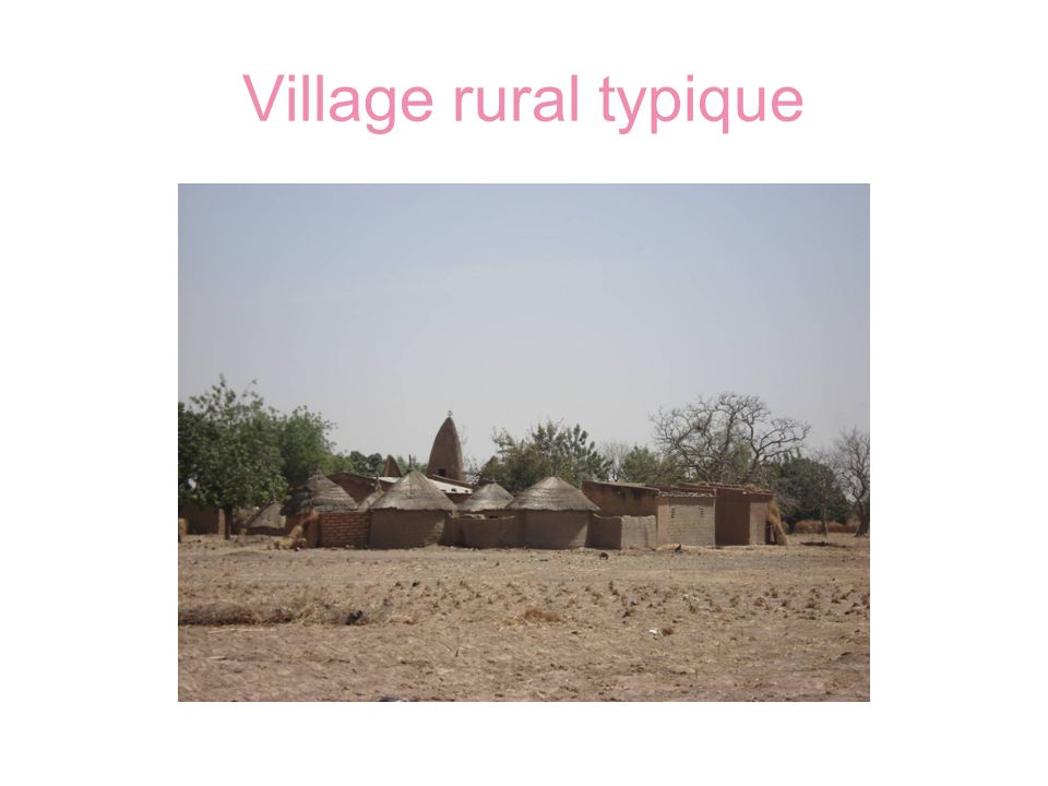 Village rural typique