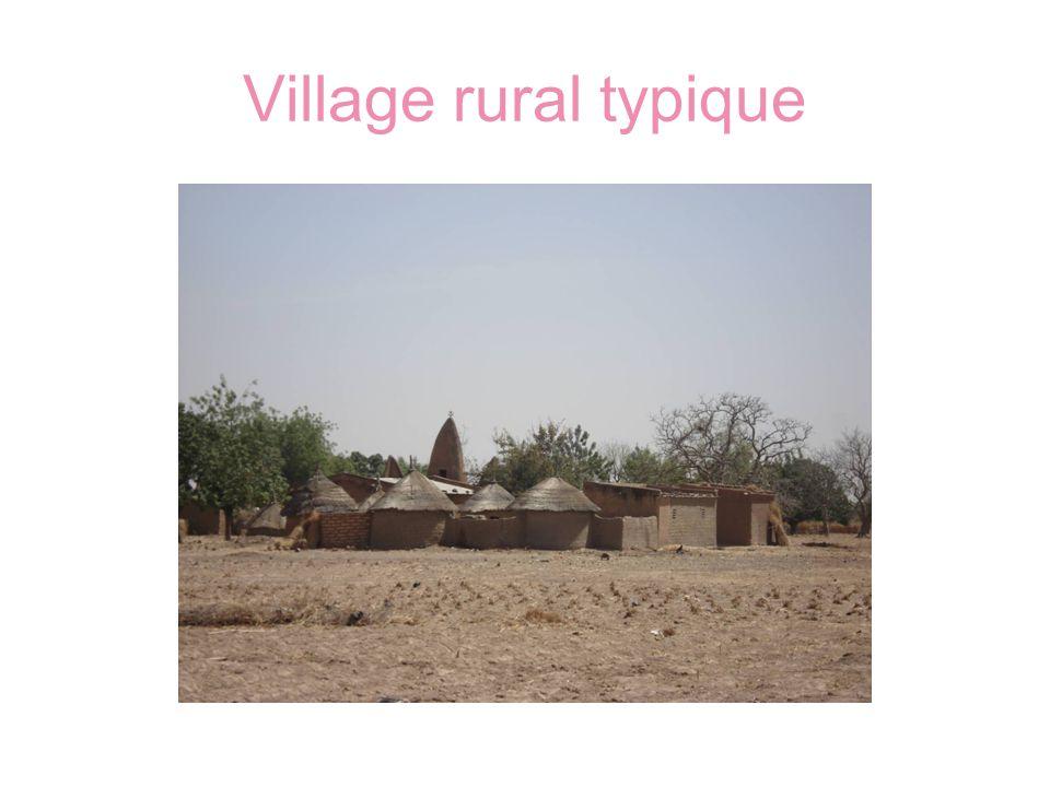 Village rural typique