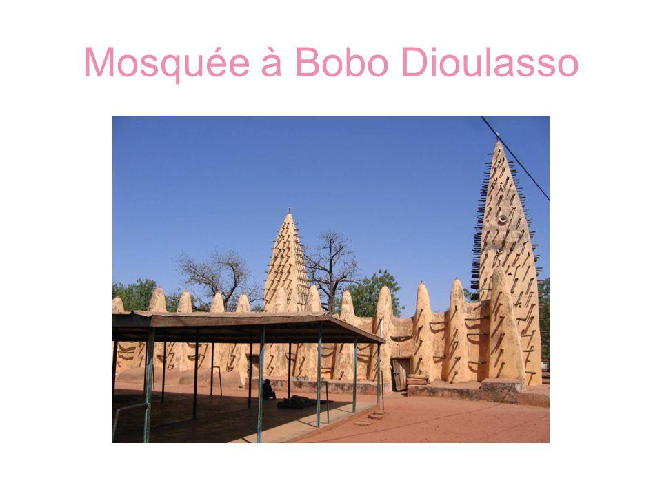 Mosquée à Bobo Dioulasso