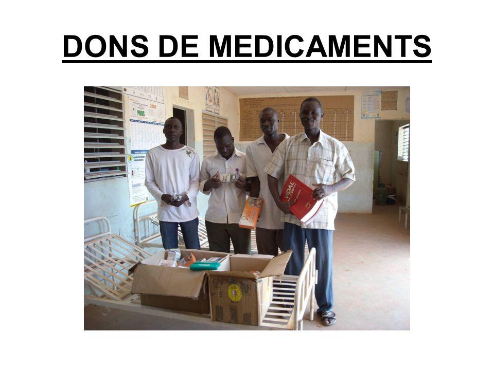 DONS DE MEDICAMENTS