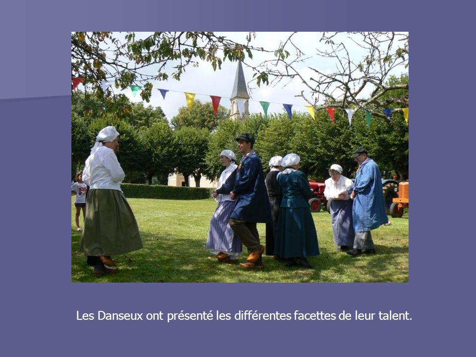 Les Danseux ont présenté les différentes facettes de leur talent.