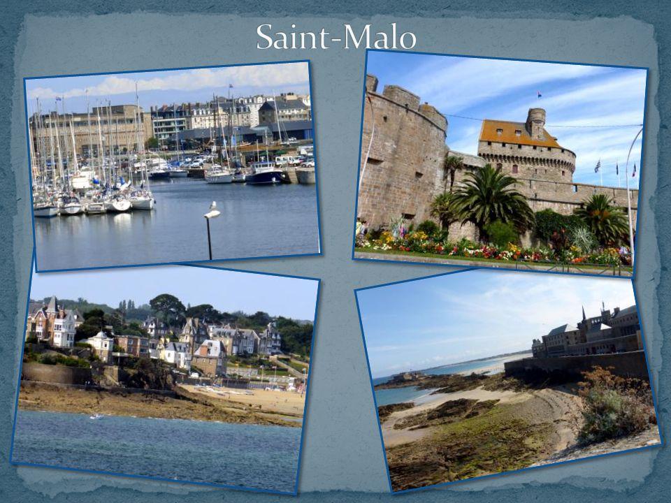 En suivant le GR 34, nous découvrons de superbes vues sur Saint-Malo. De la pointe de la Vicomté ou du Moulinet, dominées par les superbes villas de l