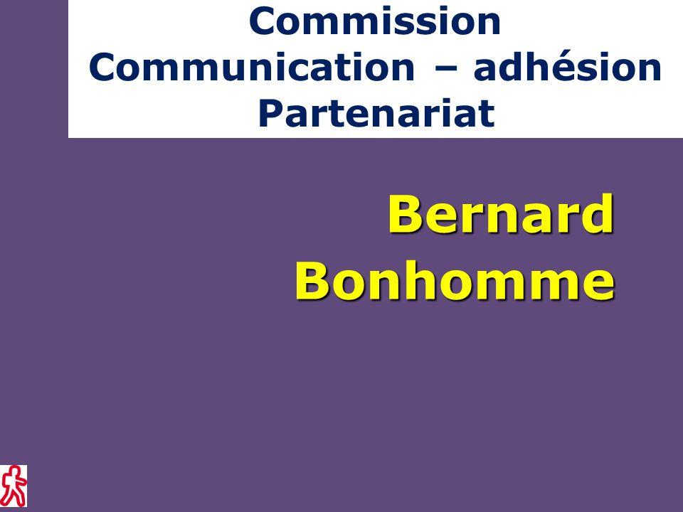 Commission Communication – adhésion PartenariatBernardBonhomme