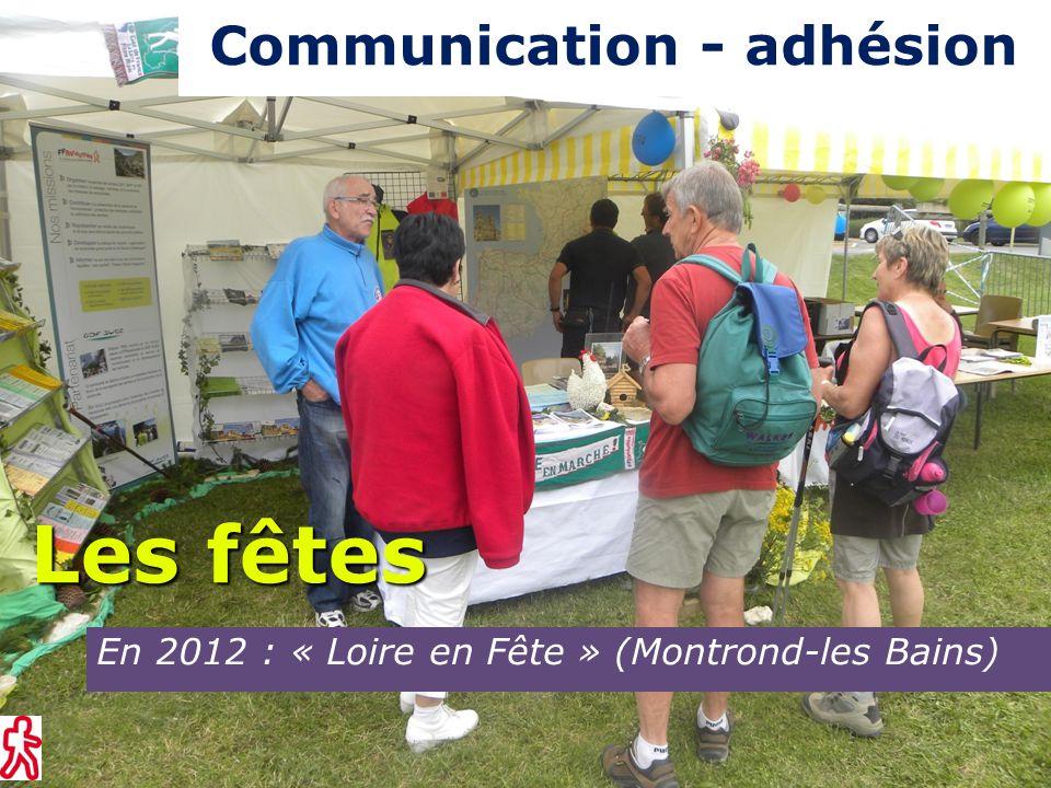 En 2012 : Fête de l'oiseau (Le Bessat) Les fêtes Communication - adhésion