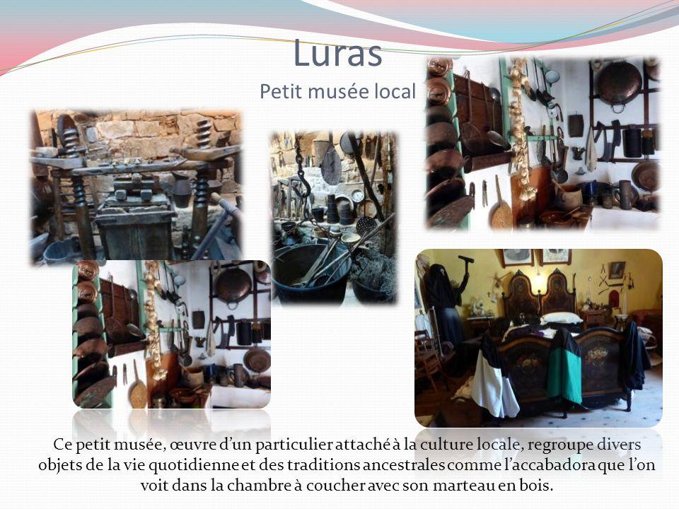 Musées ethnographiques de : Luras Nuoro