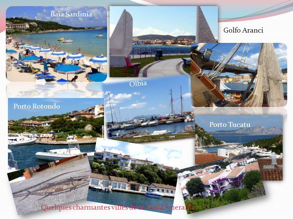 La Costa Smeralda Paradis de la jet set du monde entier Porto Cervo C'est Karim Agha Khan qui est parmi les fondateurs de ce petit paradis.
