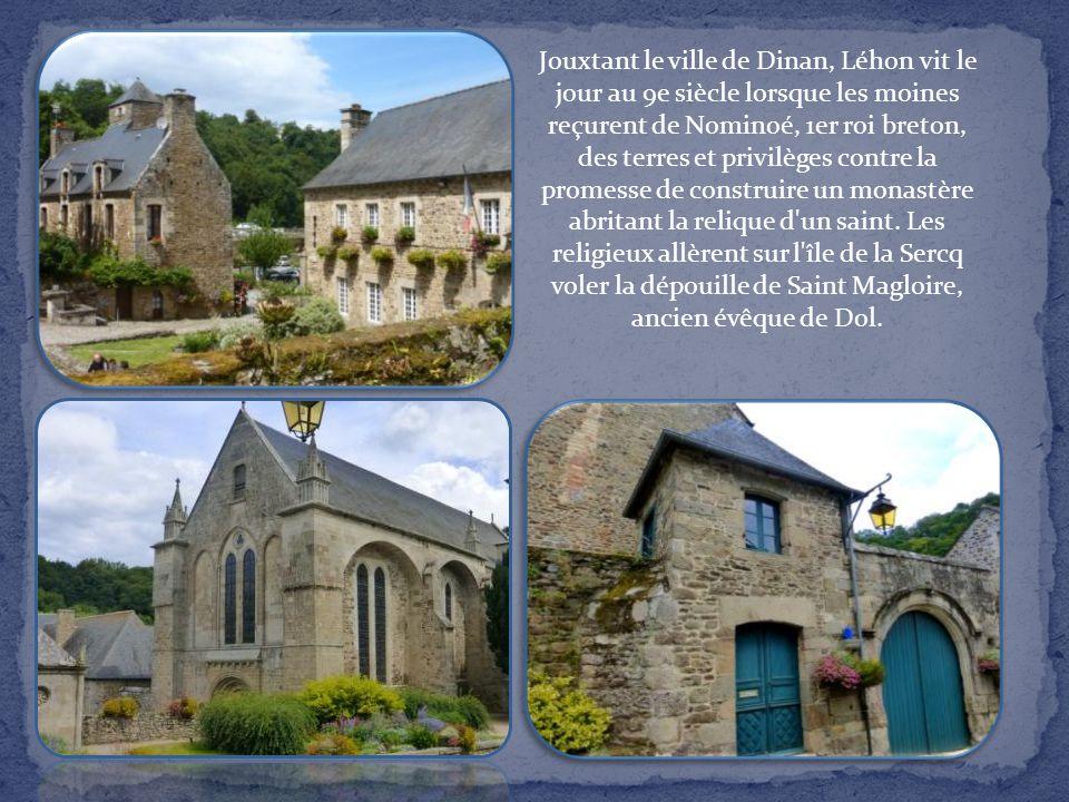 Au 11e siècle, un prieuré s'installa au croisement des voies terrestre et navigable (la Rance) et favorisa le développement d'une bourgade. Bâtie sur