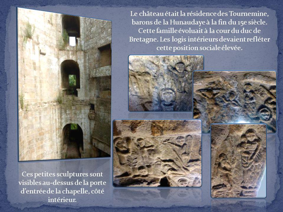 Ses logis servirent de carrière de pierres jusqu'à ce que l'état décide de protéger le monument (début 20e). Il est maintenant propriété du conseil gé