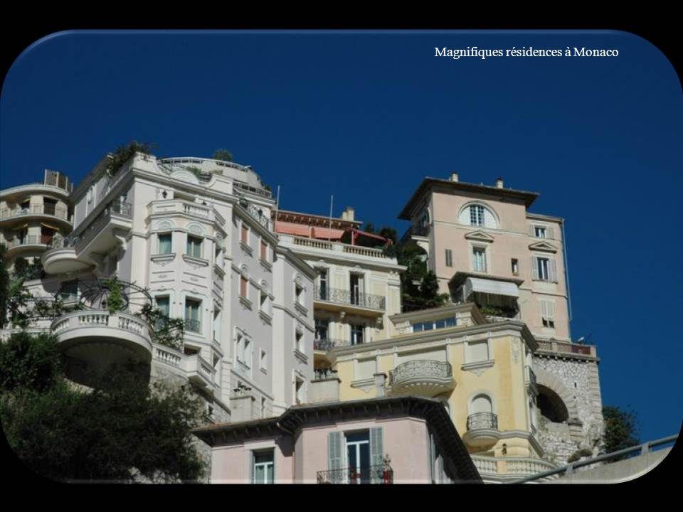 Magnifiques résidences à Monaco