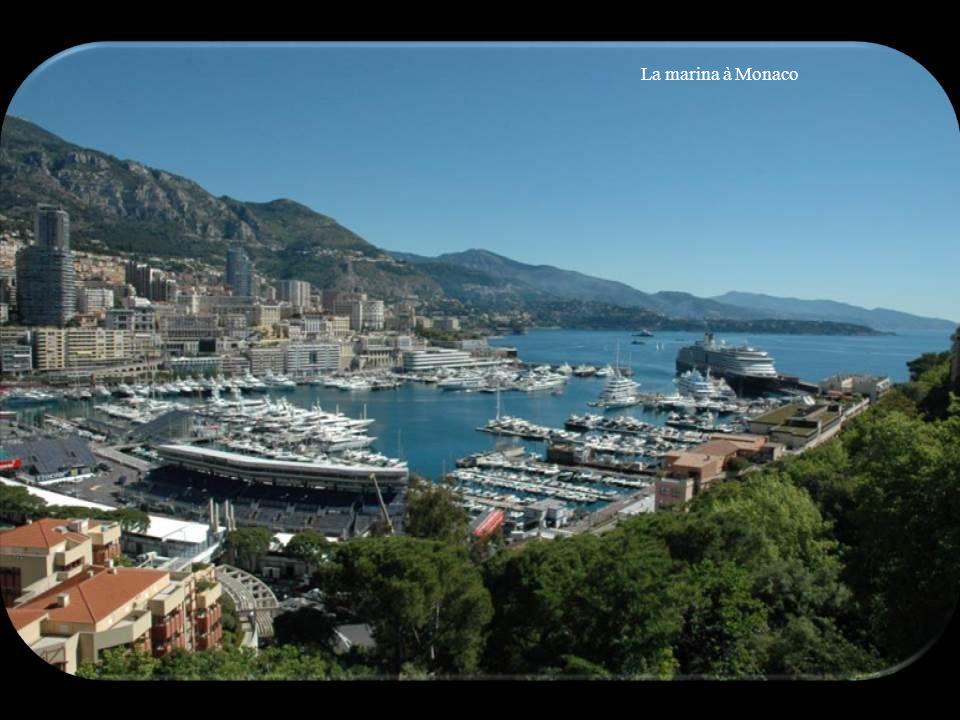 La marina à Monaco
