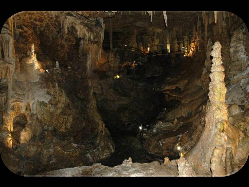 Entrons maintenant dans La Grotte de l'Observatoire à Monaco. A la base de la falaise du Jardin Exotique (dite «de l'observatoire» en raison de la pré