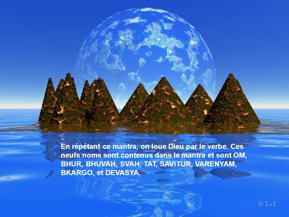 OM BHUR BHUVAH SWAH (HA) TAT SAVITUR VARENYAM BHARGO DEVASYA DHIMAHI DHIYO YO NAH PRACHODAYAT