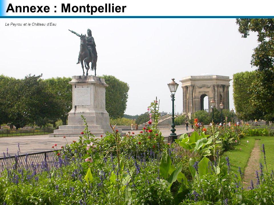 Annexe : Montpellier Le Peyrou et le Château d'Eau