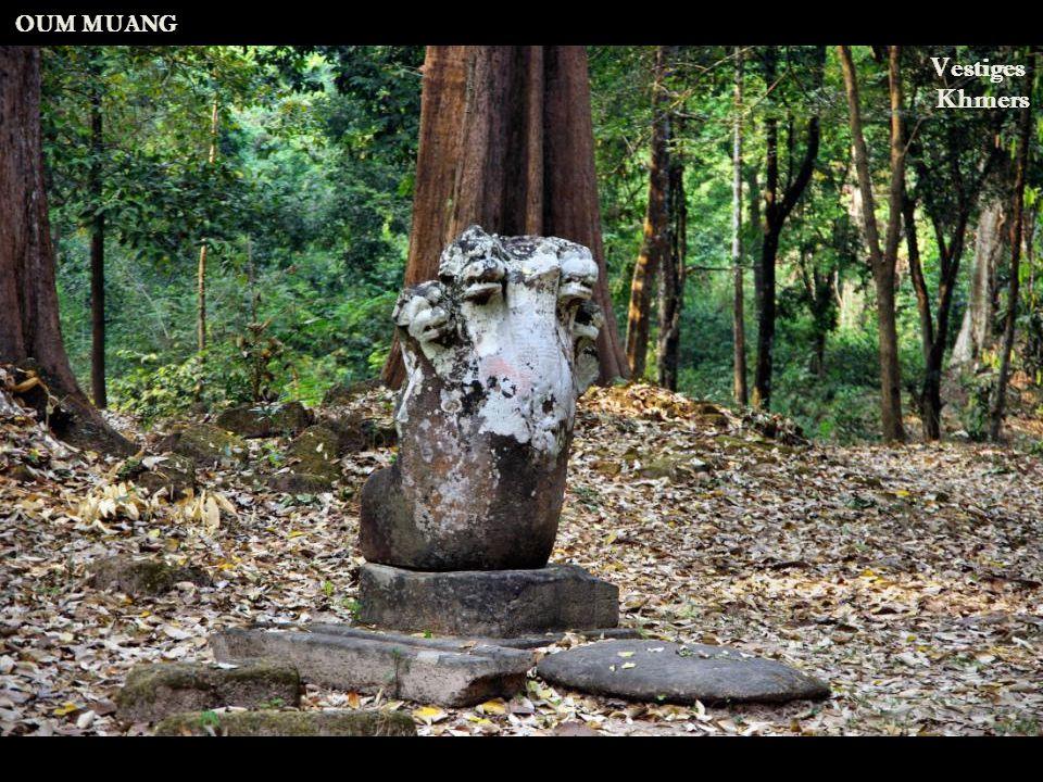 Route nationale 13 Arrivée au site d'Oum Muang