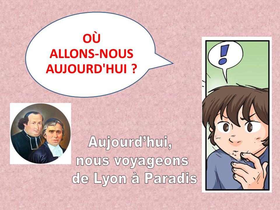OÙ ALLONS-NOUS AUJOURD'HUI ?