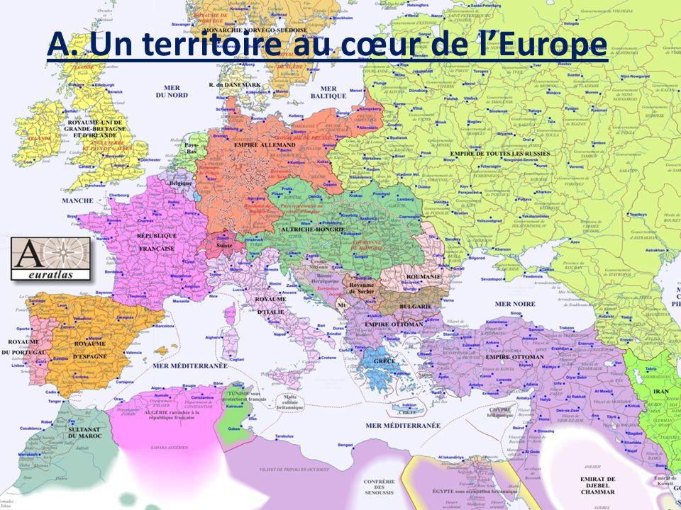A. Un territoire au cœur de l'Europe
