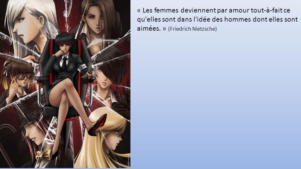 « Les femmes deviennent par amour tout-à-fait ce qu elles sont dans l idée des hommes dont elles sont aimées.