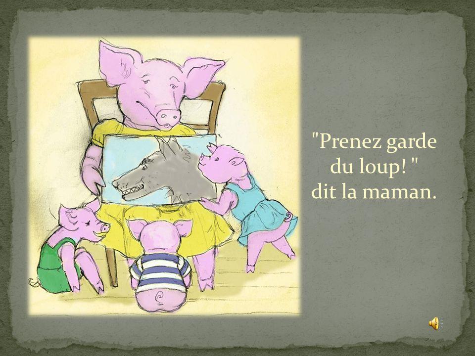 Il était une fois trois petits cochons…