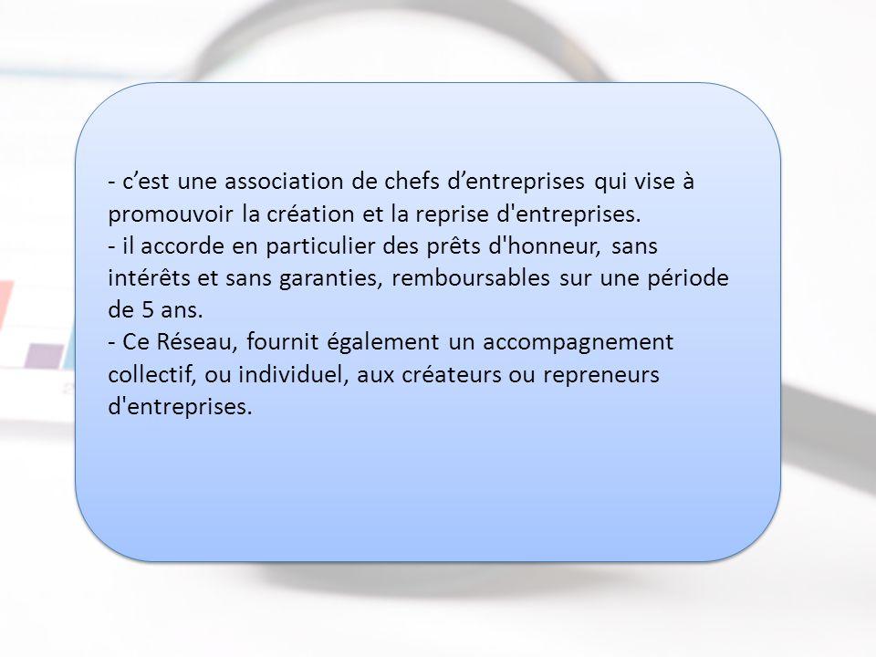 Maroc Entreprendre http://www.maroc-entreprendre.ma Maroc Entreprendre http://www.maroc-entreprendre.ma - c'est une association de chefs d'entreprises qui vise à promouvoir la création et la reprise d entreprises.
