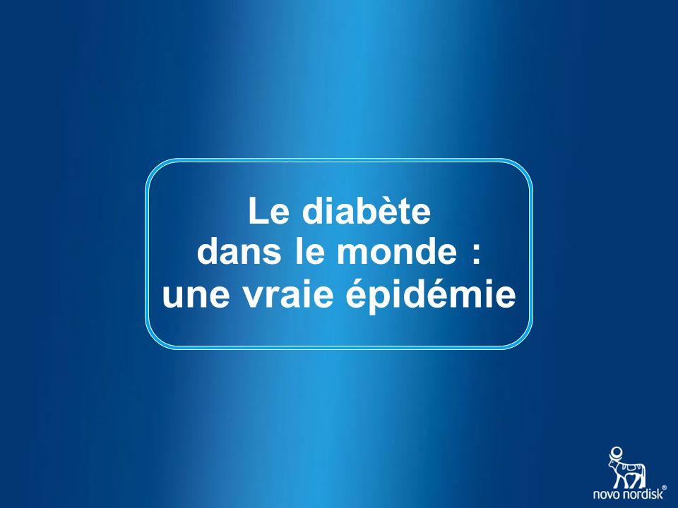 Le diabète une vraie épidémie dans le monde :