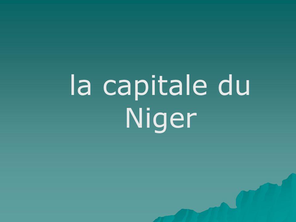 la capitale du Niger