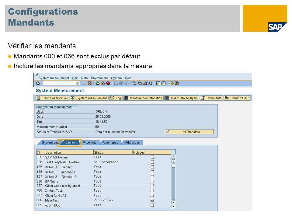 Configurations Listes de Prix Sélectionner la liste de prix Activer la liste de prix correspondant à vos licences La liste de prix choisie présélectionne les types d'utilisateurs correspondants.