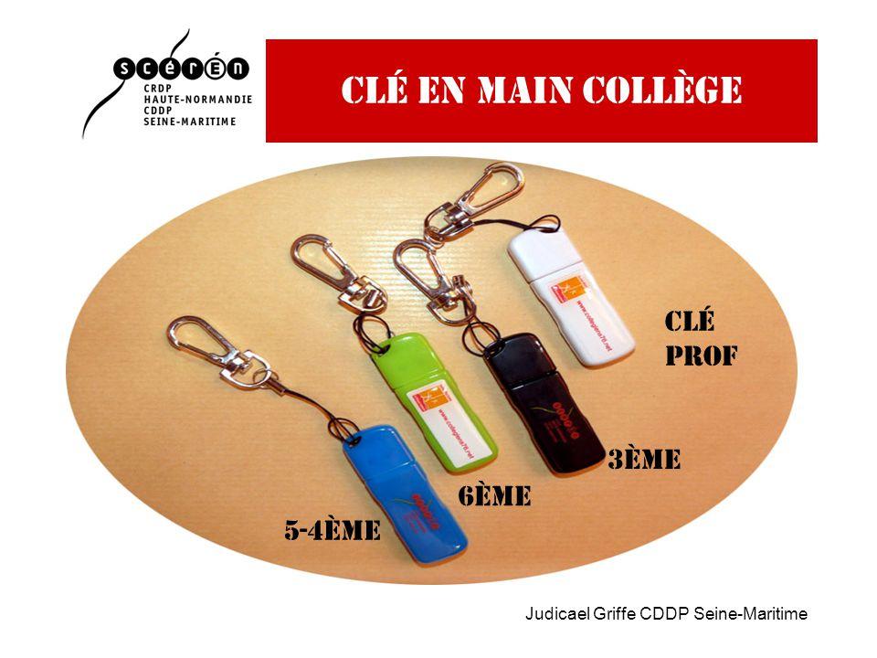Judicael Griffe CDDP Seine-Maritime Clé en main collège 6ème 5-4ème 3ème Clé prof