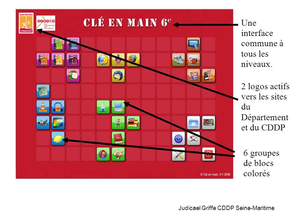Judicael Griffe CDDP Seine-Maritime Une interface commune à tous les niveaux.