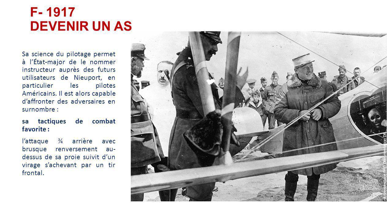 La bataille de Verdun (21 février 1916): l'aviation française gagne la suprématie du ciel. E- Nungesser dans les grandes batailles Nungesser participe