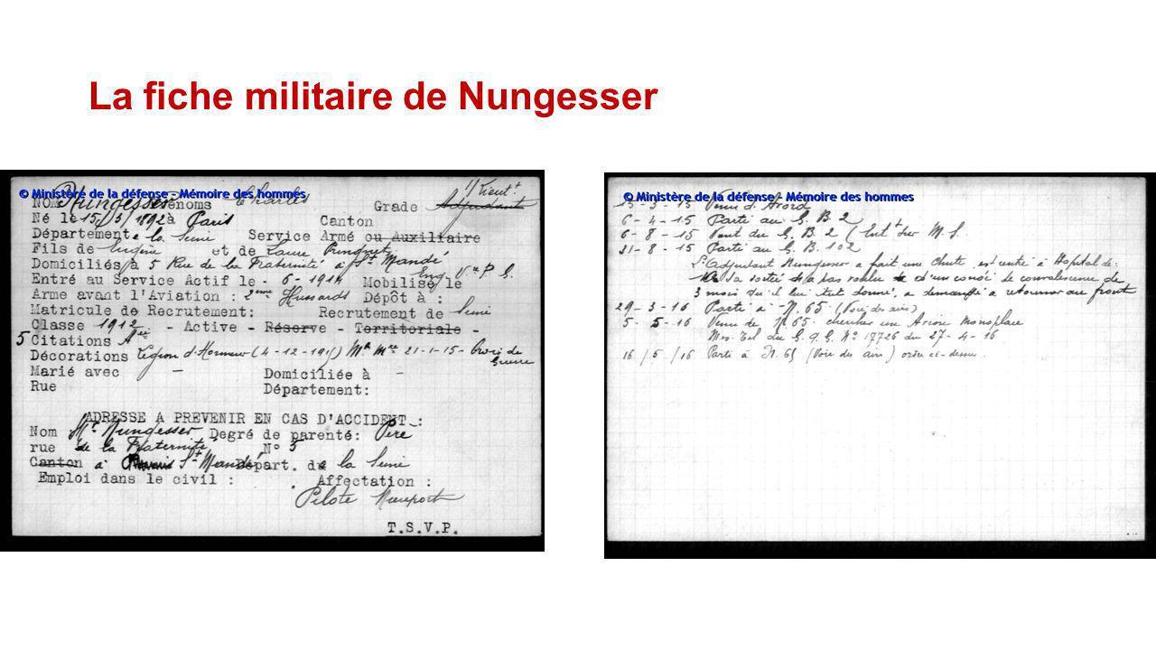 1918, devenir : un As des As les blessuresLes décorations - En février 1916, il est grièvement blessé en s'écrasant au décollage aux commandes d'un pr