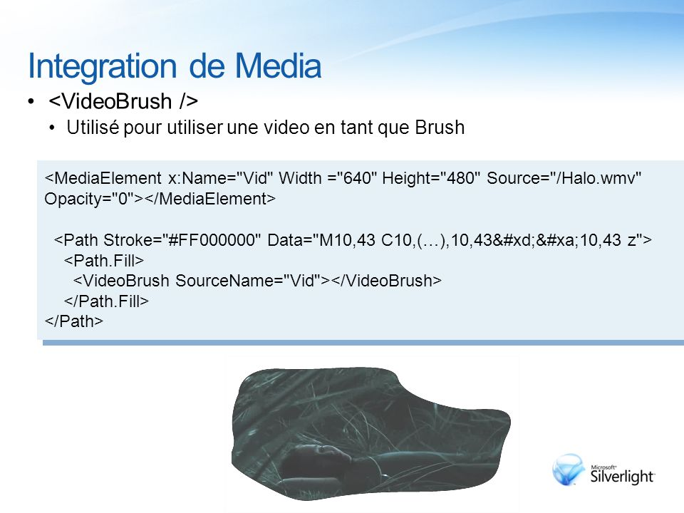 Integration de Media Utilisé pour utiliser une video en tant que Brush