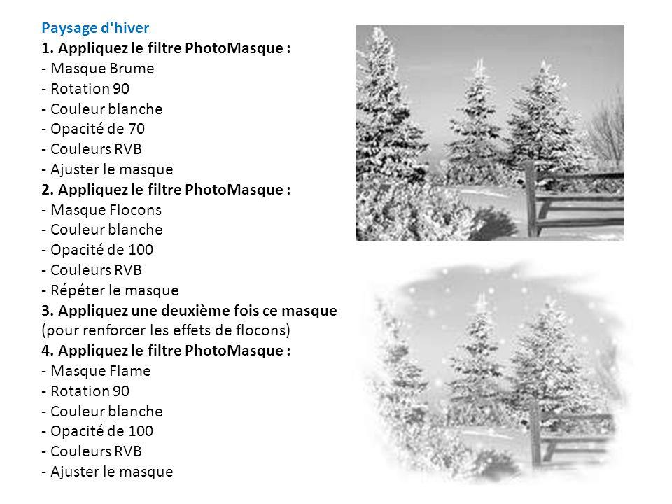 Effet Puzzle sur portrait 1.Menu Sélection / Tout Sélectionner 2.