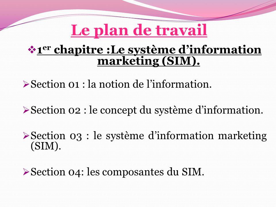  2 ème chapitre :La performance commerciale. Section 01 : le concept de la performance.