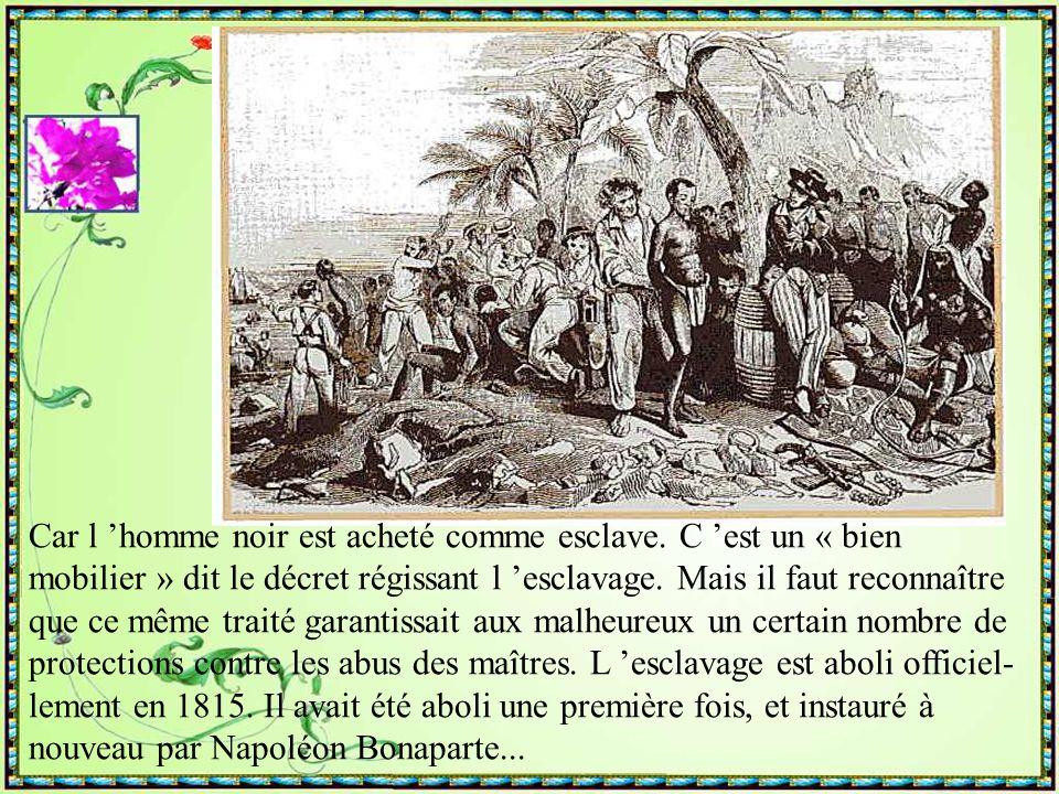 Lors de son quatrième et dernier voyage, Christo- phe Colomb débarque à la Martinique le 15 juin 1502. Pendant un siècle, la Martinique reste à l 'éca