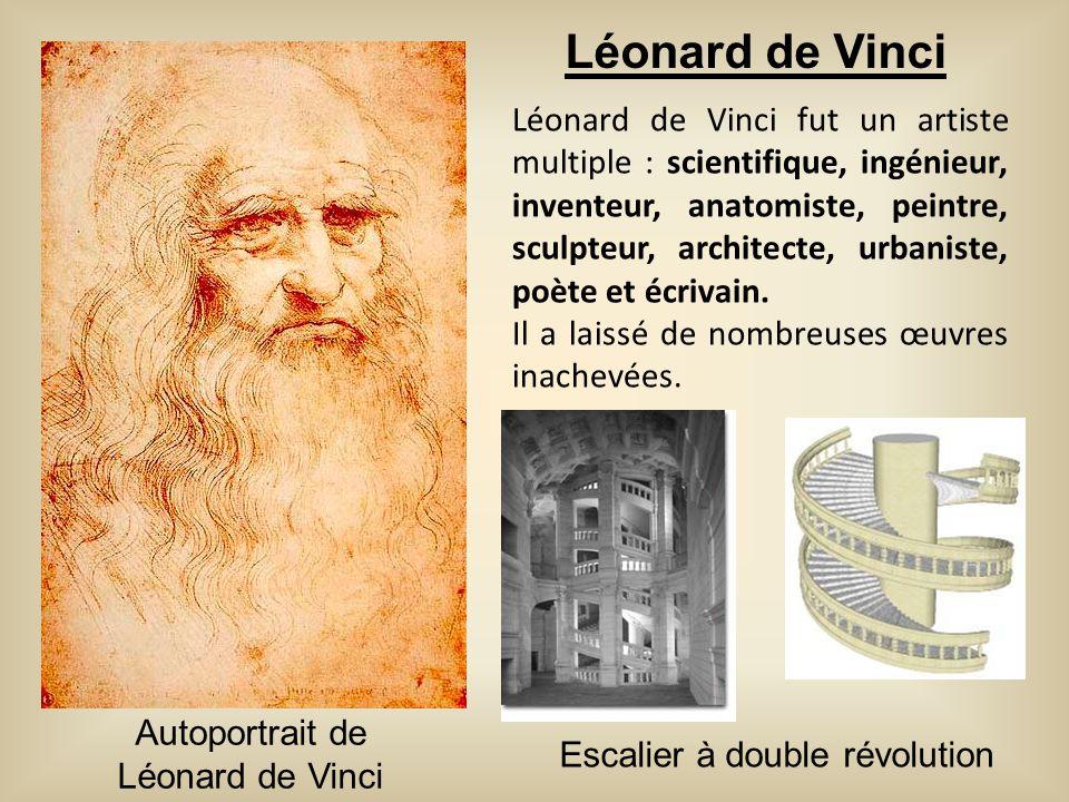 Léonard de Vinci fut un artiste multiple : scientifique, ingénieur, inventeur, anatomiste, peintre, sculpteur, architecte, urbaniste, poète et écrivai