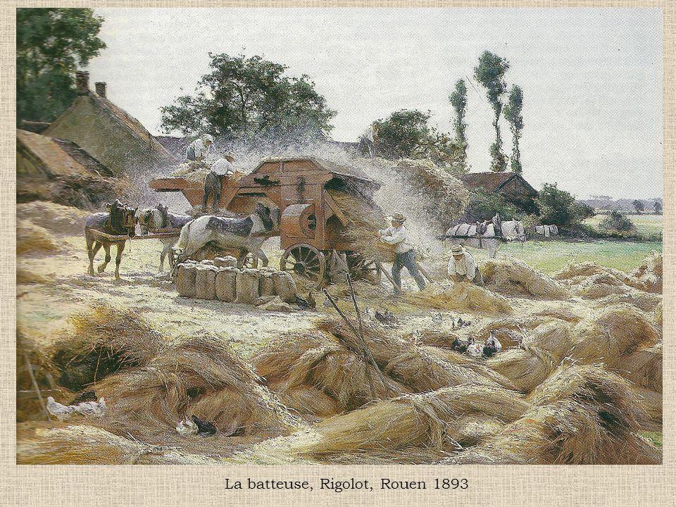 La batteuse, Rigolot, Rouen 1893