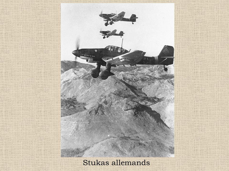 Stukas allemands