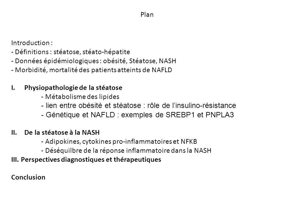 Régulation hormonale de la circulation des lipides dans l'organisme Inversement proportionnelle à la masse grasse Favorise la béta-oxydation des lipides Antagonise la signalisation du TNF-alpha Polyzos et al, Diabetes, Obesity & metabolism 2010