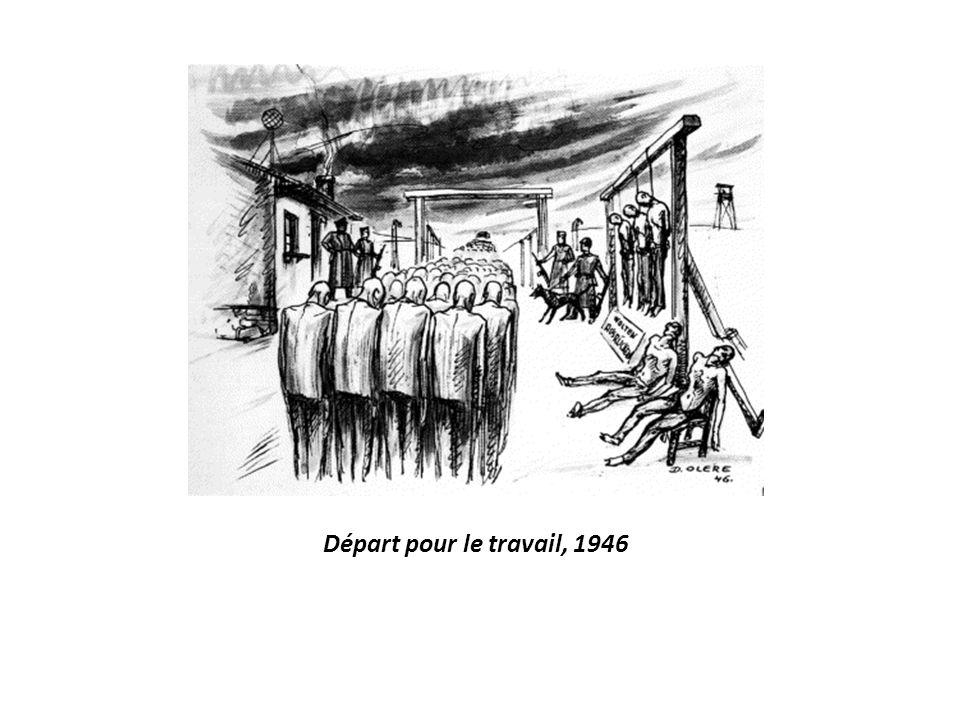 Départ pour le travail, 1946