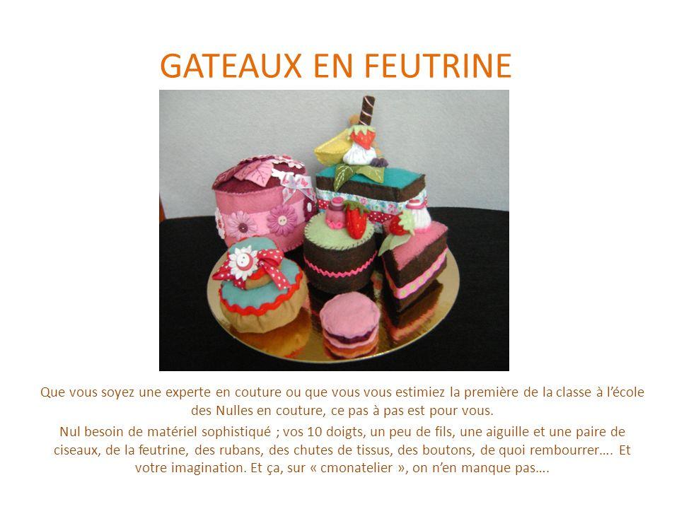 Le gâteau rond Il vous faut : -1 disque marron de 6 cm de diamètre -1 disque vert de 6 cm de diamètre -1 disque rose de 4 cm de diamètre (pour la déco du gâteau) -1 bande de 20 X 4 cm en marron