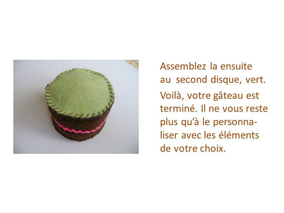 Personnalisez votre gâteau selon vos envies.