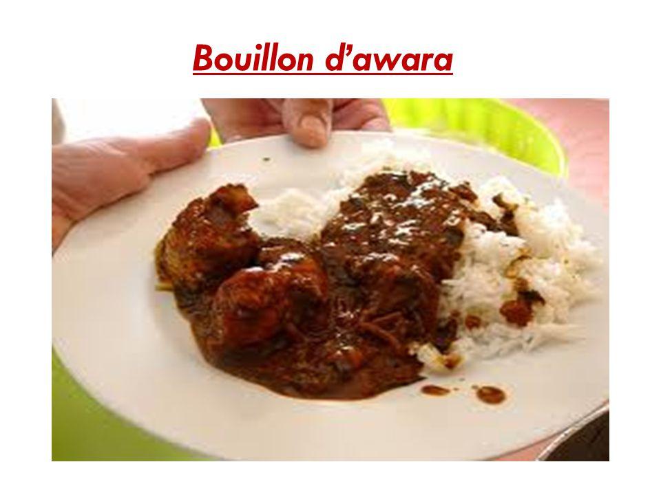 Bouillon d'awara
