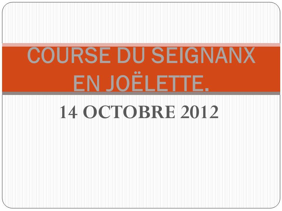 14 OCTOBRE 2012 COURSE DU SEIGNANX EN JOËLETTE.