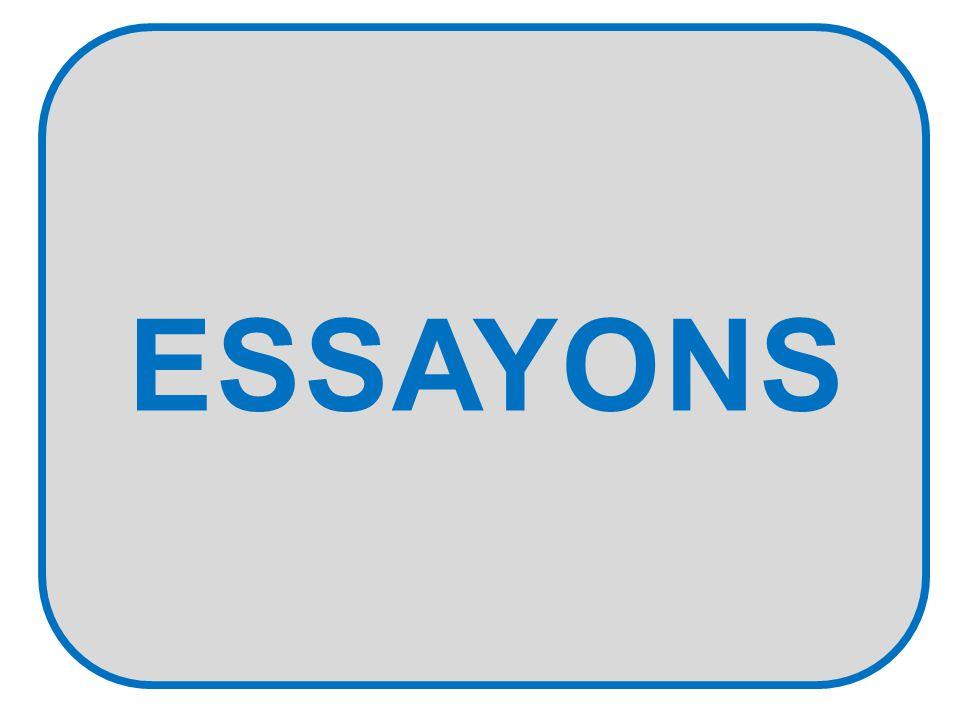 ESSAYONS