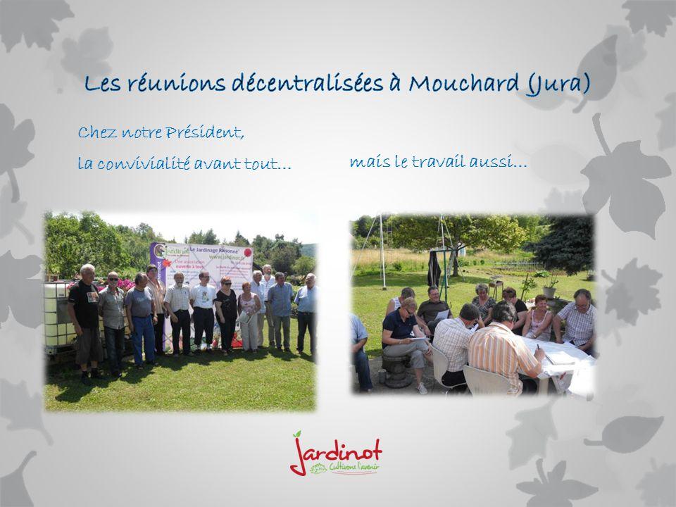 Des moments très forts dans notre association, ici la remise du Mérite Agricole à notre ami Jacques GOSSOT
