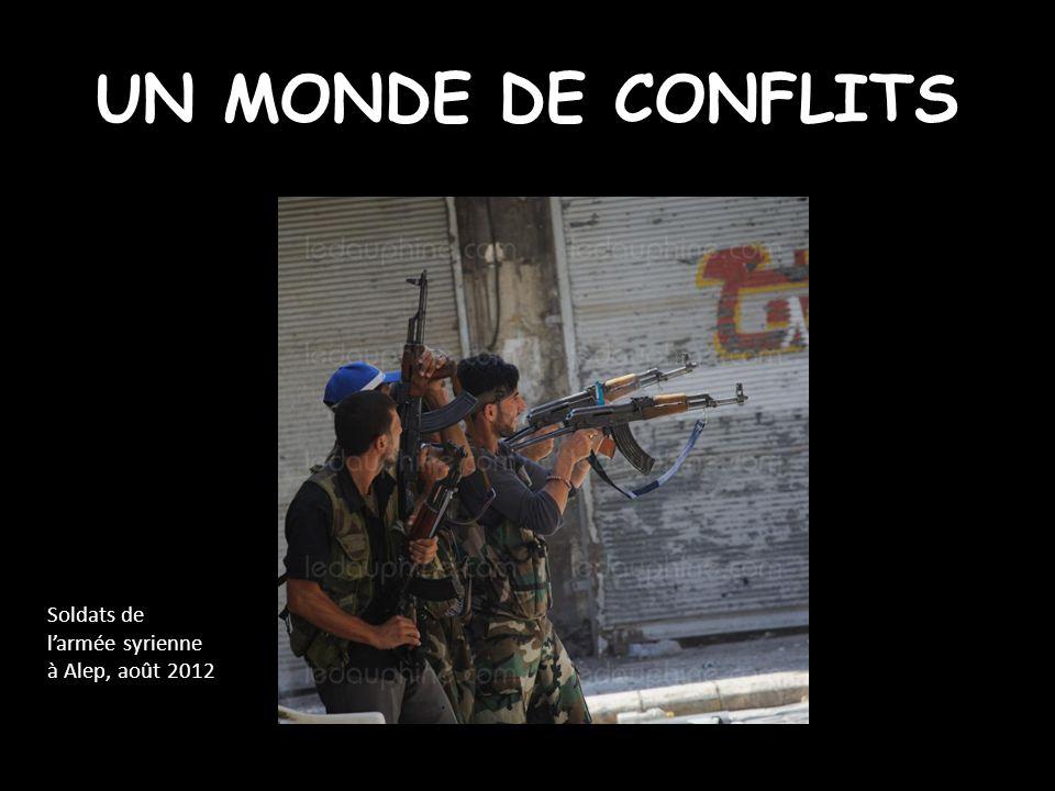 1 - Des conflits nombreux Arc de crise Conflits inter étatiques Sahara occidental RDC.