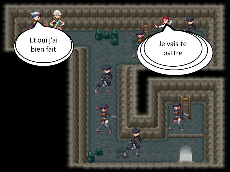 Chercher il faut que on le trouve La Team Rocket !!.