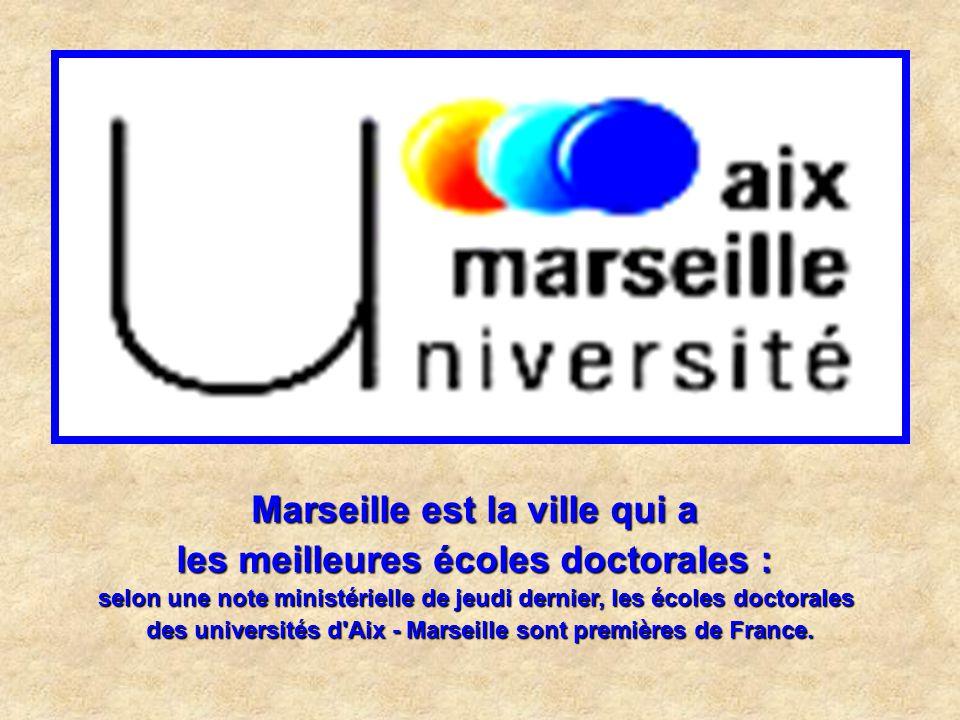 Marseille est la ville qui a le plus grand port de plaisance : Les 8 600 anneaux d'amarrage des 24 ports de la Communauté urbaine en font le plus gran