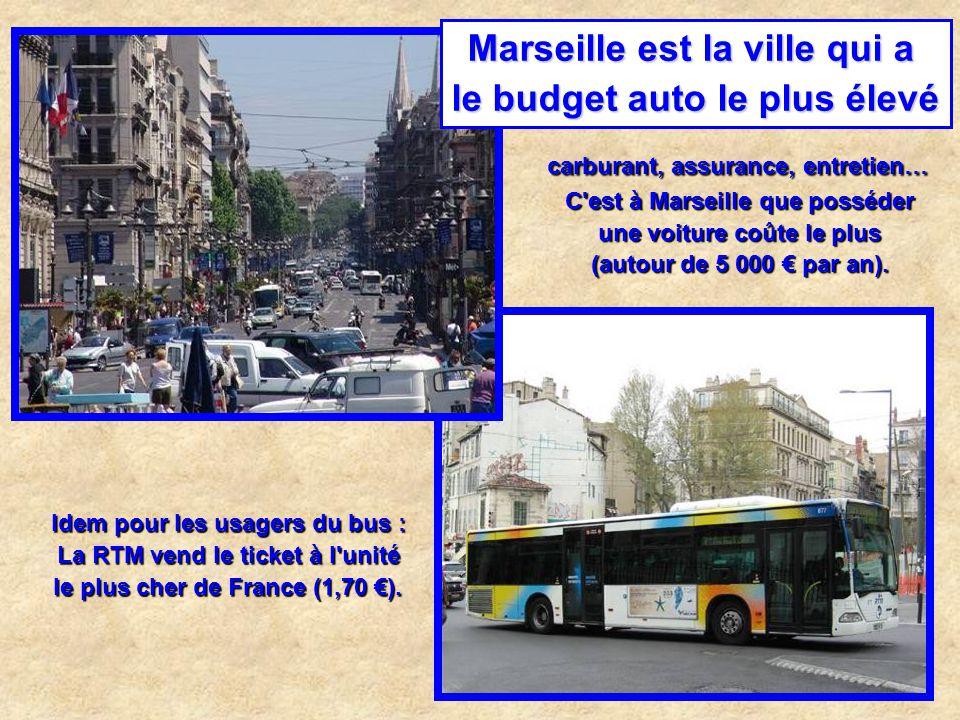 Marseille est la ville qui a le plus grand nombre de machines à sous illégales : sur 1 500 bars, près d'un tiers seraient équipés de